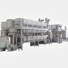 AUTOMATIC SESAME PROCESSING LINE / DRY WAY SESAME PEELING